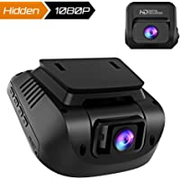 Dash Cam Both 1080P FHD Front and Rear Dual Lens in Car Camera Recorder Crosstour External GPS HDR Both 170°Wide Angel Motion Detection G-Sensor Loop Recording