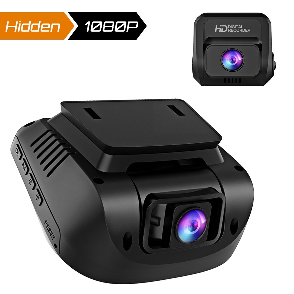 Both 1080P FHD Front and Rear Dual Lens Dash Cam in Car Camera Recorder Crosstour External GPS HDR Both 170°Wide Angle Motion Detection G-Sensor Loop Recording(CR900) by Crosstour