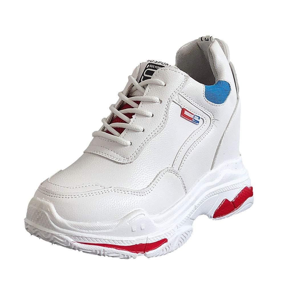 RBNB-Chaussures Femme Fond épais Sneakers Hiver Automne Chaussure de Sport Fitness Confortable Respirantes Femme Mode Sneakers Fond Mou Running Fitness Chaussures Plein air Running Baskets