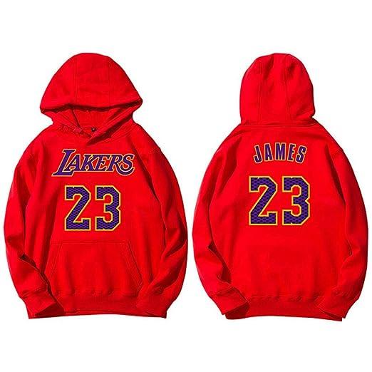 Hombres NBA Lakers 23 James Pullover Sudadera, Otoño E Invierno De ...
