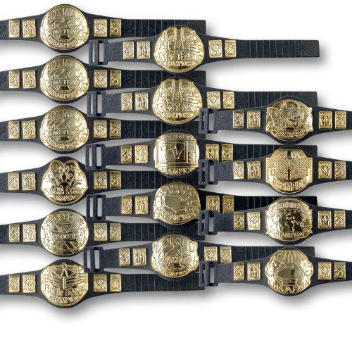 15 Championship Belt Mega Deal for WWE Wrestling Action Figures by Figures Toy Company