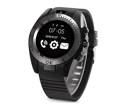 870092 Smartwatch Bluetooth con la cámara Sim Microsd Podómetro BB1 multifuncion: Amazon.es: Electrónica