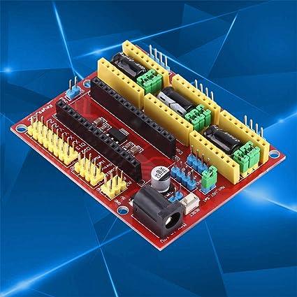 Controlador A4988, escudo de máquina de grabado CNC Unidad A4988 ...