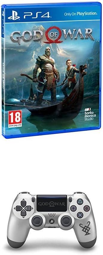 God Of War - Edición Estándar + Sony - Mando Dualshock 4, God Of ...