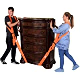 Forearm Forklift Harness 2-Person Shoulder Lifting and Moving System for Furniture, Appliances, Mattresses or Heavy…
