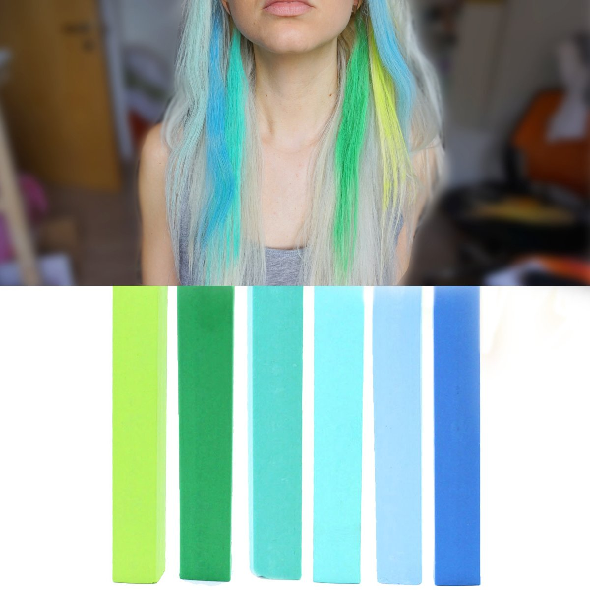 Best Turquoise Ombre Kylie Jenner Mint Hair Dye Set Green Blue Mint And Turquoise Hair Color Mojito Temporary Hair Dye With Shades Of Light Green Dark Green Light Blue