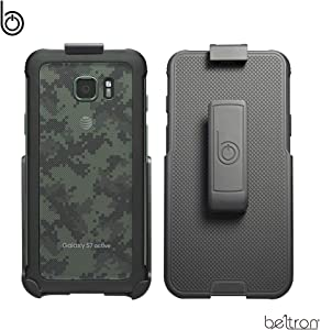 Heavy Duty Belt Clip Holster for Samsung Galaxy S7 Active G891 (case Free Design) with Built-in Kickstand by BELTRON