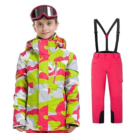 Flyci Traje de Esquiar Trajes de esquí para niños y niñas a ...