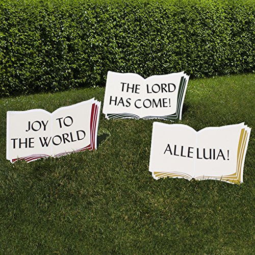 Outdoor Nativity Store Good Words Yard Sign Set -