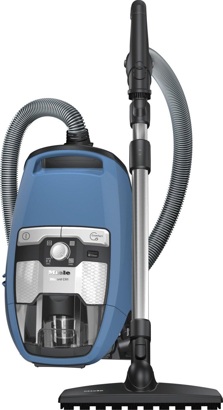 Miele Aspirateur Blizzard CX1 Parquet EcoLine Bleu 2 Litre 550 Watt