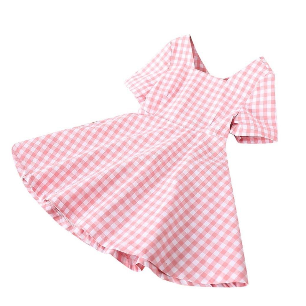 e495290c72e8 Amazon.com  Toddler Baby Girls Casual Dresses