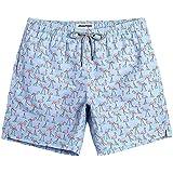 SHEKINI Men's Summer Beach Shorts Coconut...