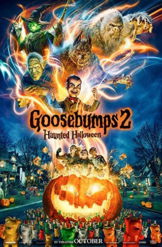 Goosebumps 2: Haunted Halloween - Authentic Original 27' x 40' Movie Poster