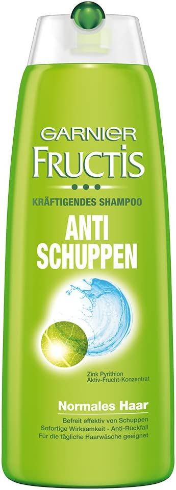 Garnier Fructis Champú anticaspa, 6er Pack (6 x 250 ml): Amazon.es: Belleza
