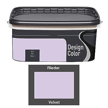Design Color 5 L Farbige Innenfarbe Wandfarbe Farbwahl Matt