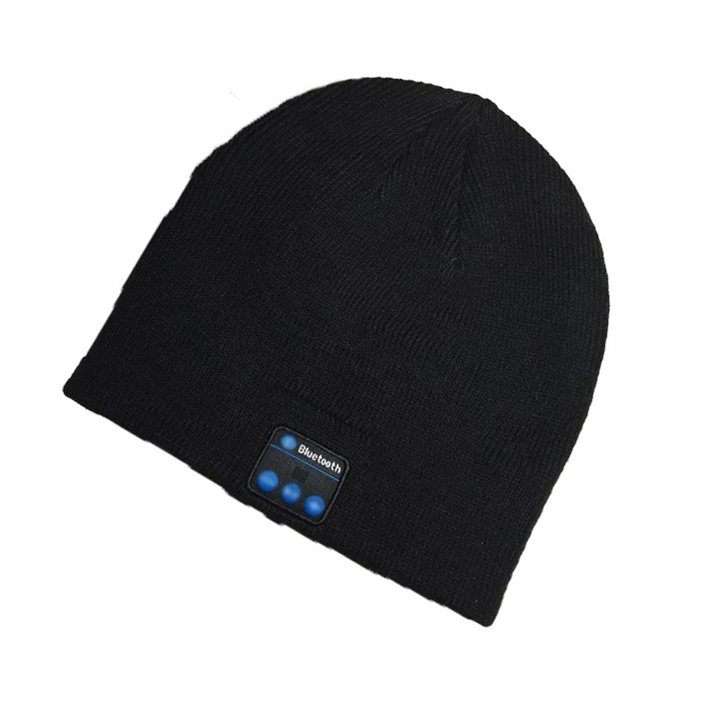 674fd02cc8905 Bluetooth Hat Wireless Bluetooth Music Hat Winter Knitted Beanie Cap For  Running Outdoor Sports Skiing Camping Hiking Thanksgiving Day Christmas  Gifts ...