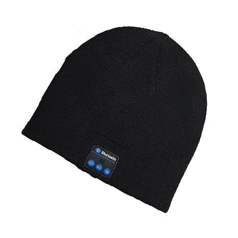 Cappello Bluetooth Bluetooth Music Hat Inverno Berretto lavorato a maglia  Berretto per corsa Sport all  21cab1882900