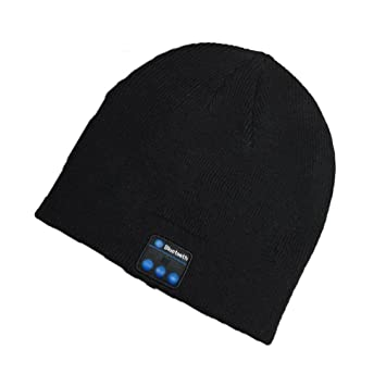 Bluetooth Hat Wireless Bluetooth Music Hat Winter Knitted Beanie Cap For  Running Outdoor Sports Skiing Camping bdc41b8f7e8
