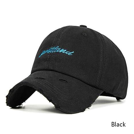 YUANBAOG Gorra de béisbol Mujer Hombre Cool Snapback Sombrero ...