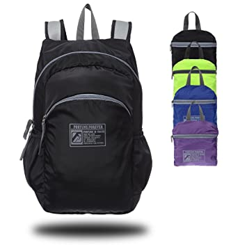 Foldable Ultra Lightweight Handy Packable Backpack Water Resistant Hiking  Daypack for Outdoor Walking 04779a39d314c