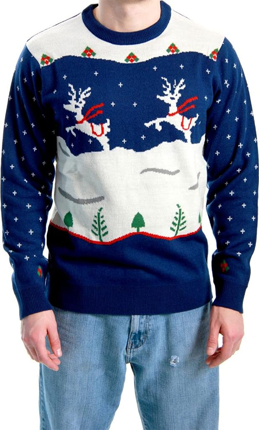 Amazon.com: Ugly Christmas Sweater Step Brothers Dale Doback ...