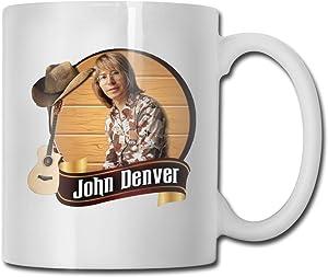 John Denver Birthday Christmas Satirical Humor Gift Creative Ceramic Cup, Coffee Cup