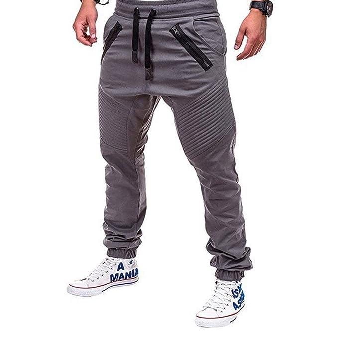 67df891815 Pantalones De Chándal De Carga Para Hombre Pantalones De Chándal Ropa  Pantalones Deportivos Pantalones Casuales Pantalones De Chándal Elásticos  Con Cordones ...