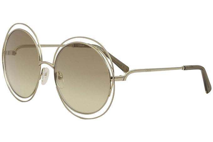 Amazon.com: anteojos de sol Chloe CE 114 s 777 Oro ...