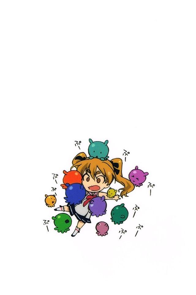 放課後のプレアデス ひかる iPhone(640×960)壁紙画像