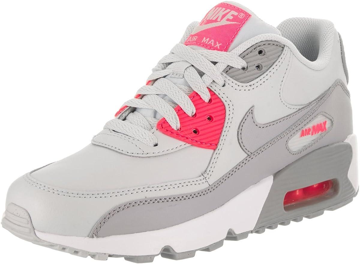 Nike Kids Air Max 90 Ltr (GS) Pure PlatinumWolf Grey