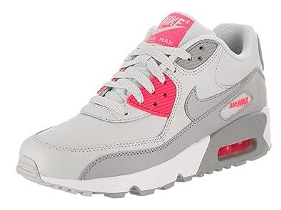 NIKE Mädchen Air Max 90 Ltr (Gs) Laufschuhe: Amazon.de: Schuhe ...
