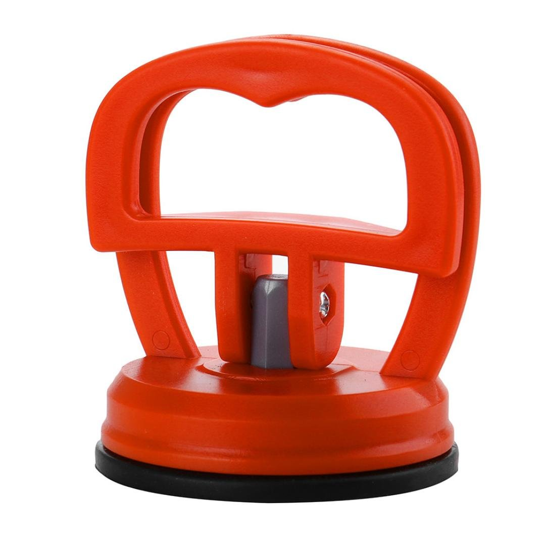 Red Mini Car Body Dent Repair Handle Puller Suction Cup Panel Sucker Remover Dent Puller