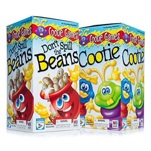 Two fun games in one bundle Dont spill the Beans and Cooties