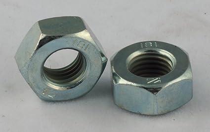 4-40 (x3/16 x 1/16) Hex Machine Screw Nuts Small Pattern Zinc 100