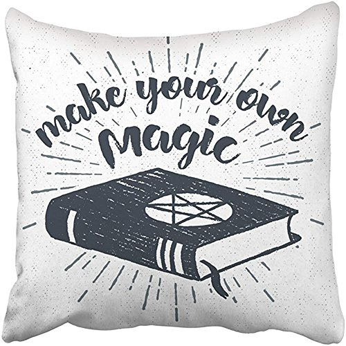 Staroutah Throw Pillow Cover Polyester 18X18 Inches Black