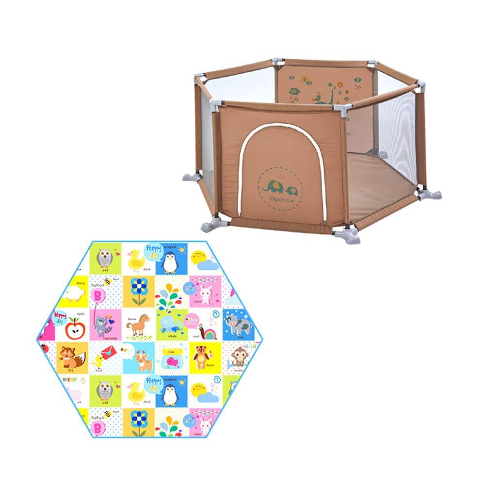 割引 DS- 乳児用フェンス 安全フェンス、ホームプレイフェンス、子供用屋内プレイグラウンド DS-、クロールマットトッドラーフェンス && && (色 乳児用フェンス : B) B B07PJ6LQ5X, タイシンムラ:0e7784c4 --- a0267596.xsph.ru