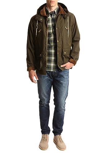 GANT RUGGER Blousons - Homme - Parka Wax your Back Kaki pour homme   Amazon.fr  Vêtements et accessoires 637ea1cd9cf4