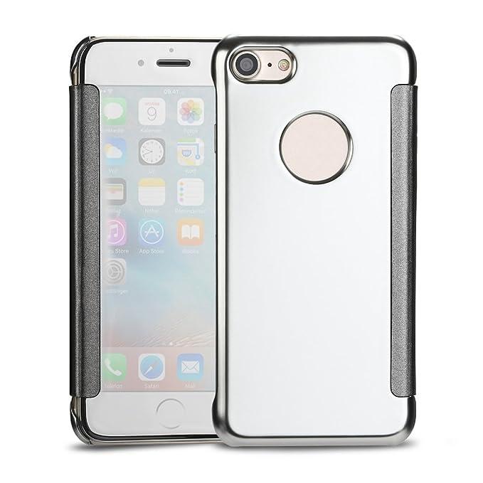 custodia iphone 6 mirror pelle