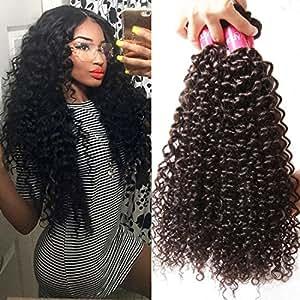 Amazon longqi beauty unprocessed brazilian curly virgin hair longqi beauty unprocessed brazilian curly virgin hair 3 bundles remy brazilian sexy curly weave human hair pmusecretfo Images