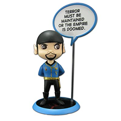 QMX Star Trek: Trekkies: San Diego Comic Con Spock Mirror Mirror Q-Pop Action Figure: Toys & Games