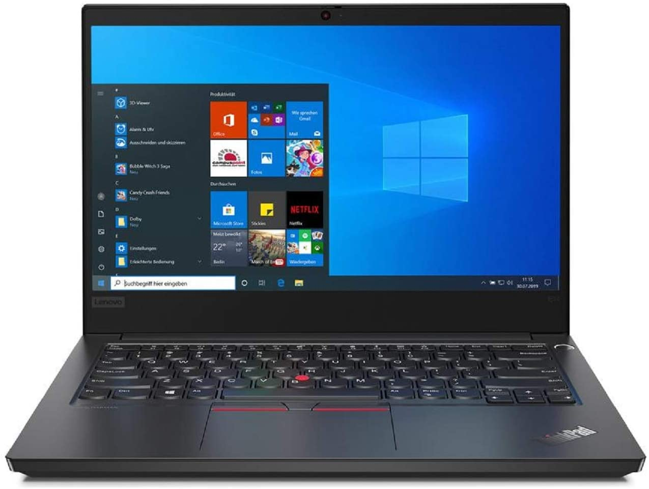 "OEM Lenovo ThinkPad E14 14"" FHD Display 1920x1080 IPS, Intel Quad Core i5-10210U, 16GB RAM, 250GB SSD, W10P, Business Laptop"
