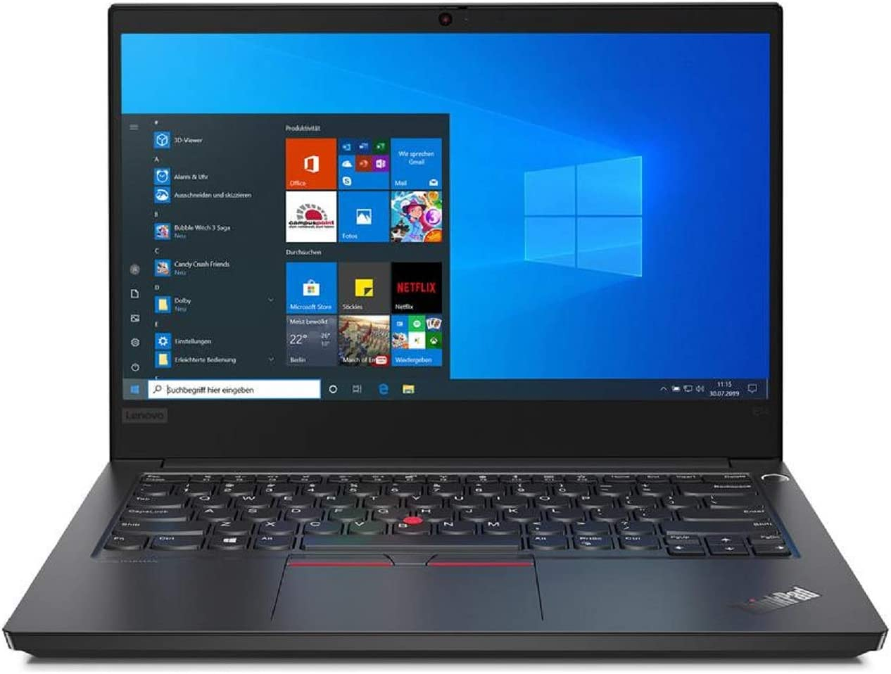 "OEM Lenovo ThinkPad E14 14"" FHD Display 1920x1080 IPS, Intel Quad Core i5-10210U, 16GB RAM, 1TB SSD, W10P, Business Laptop"