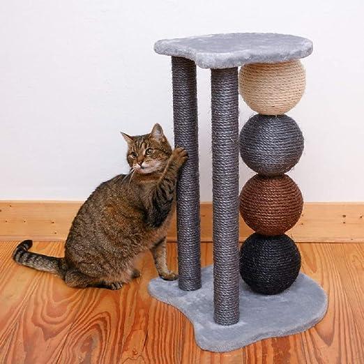 PaylesswithSS - Poste rascador para Gatos (4 Pelotas de sisal Grandes): Amazon.es: Productos para mascotas