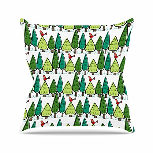 Outdoor Holiday Pillow (KESS InHouse Holly Helgeson