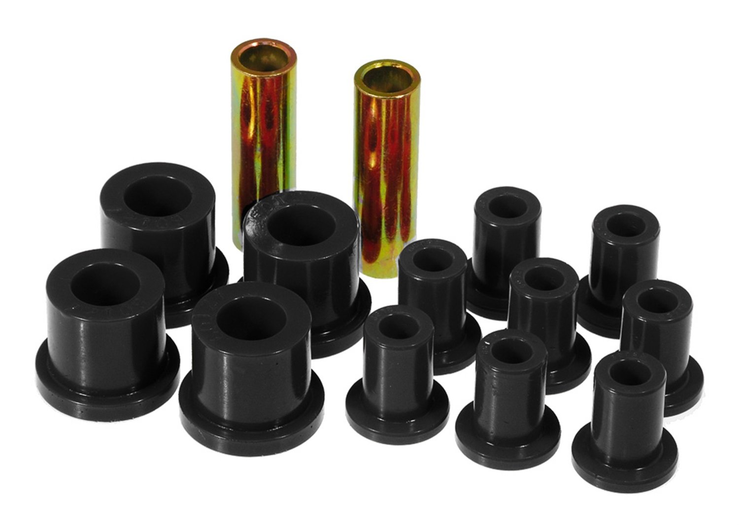 Prothane 4-1017-BL Black Rear Spring and Shackle