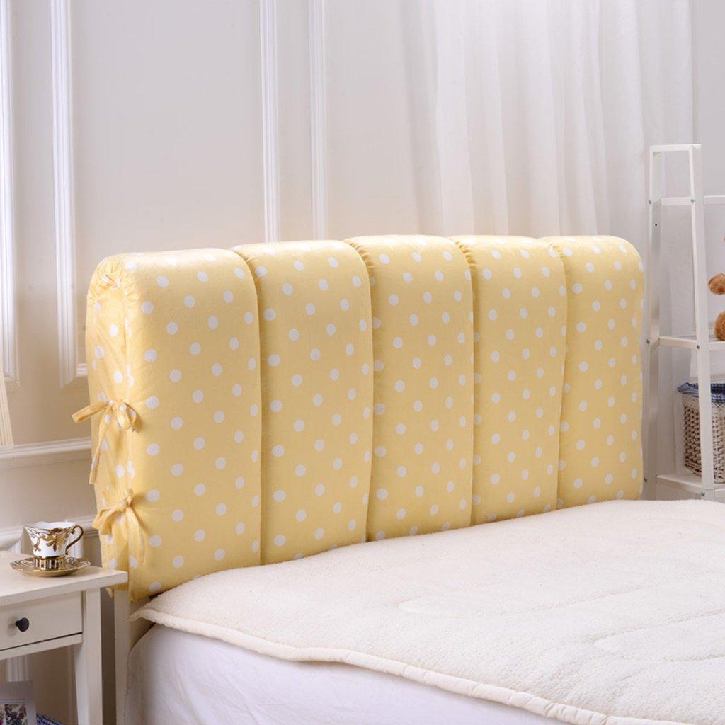 uus Comfortable Bed capo cuscino morbido Pacchetto su due lati all inclusive spugna testa letto Cuscino coperto Bed Cuscino estraibile letto singolo letto matrimoniale ( Colore : I , dimensioni : 90 centimetri ) AMAN
