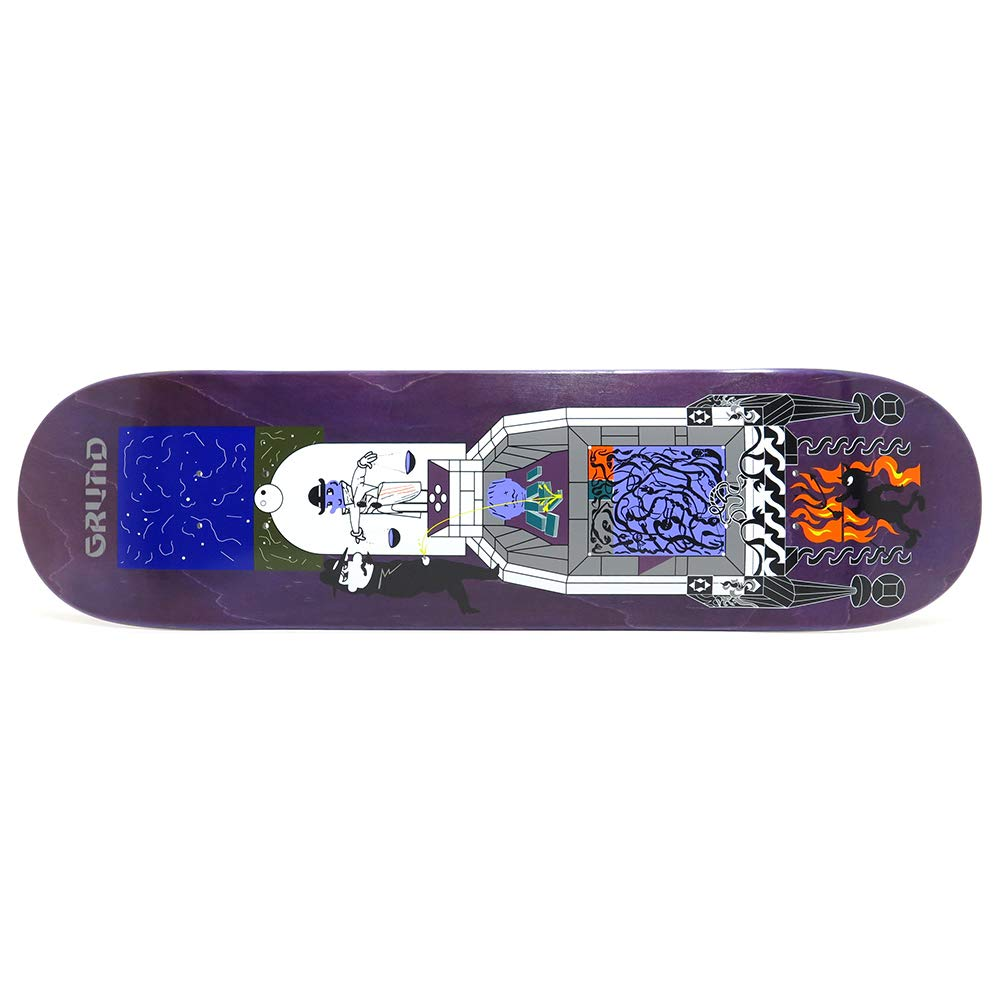 POLAR DECK ポーラー デッキ PAUL GRUND LEGACY 紫の STAIN 8.25 スケートボード スケボー SKATEBOARD