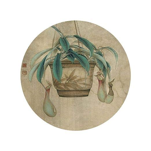 WSNDGWS Estilo Chino, Lotus, decoración del hogar, Pintura ...