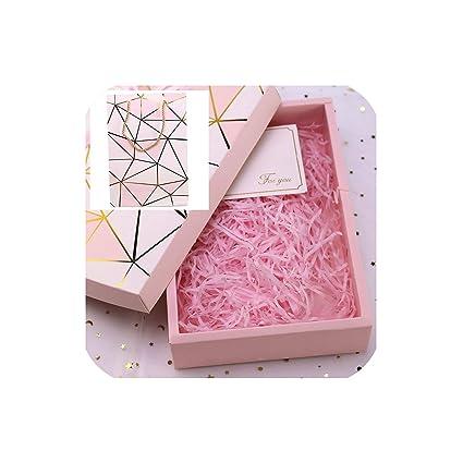 Amazon Com Mamamoo Pink Shredded Paper Raffia Diy Gift Box