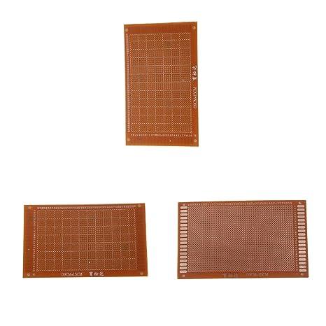 Amazon in: Buy Homyl 3pc 9x15cm PCB Manufacture Prototype Etching